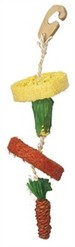 NATURAL LOOFAH HANGING TOY