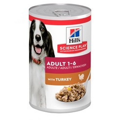 HILLS SCIENCE PLAN CANINE ADULT TURKEY 370G