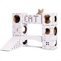 POOPYCAT Cat Playhouse